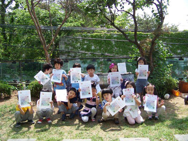 2012.05.15 하나유치원 열매반_Play-오감만족[놀이문화원형]展 단체관람 및 전시연계활동