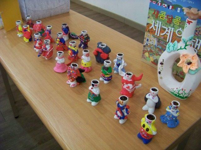 2014.02.13 하나유치원 하늘반_나를 닮은 미니 도자기 화분