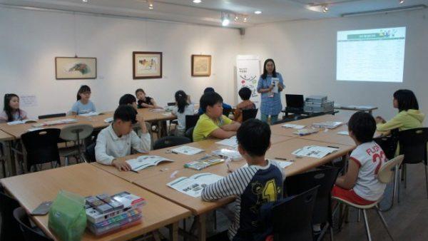 2016.05.21 [2016 꿈다락 토요문화학교] 미술관 속 감성여행, 한지로 만나는 전통공예 이야기 어린이프로그램