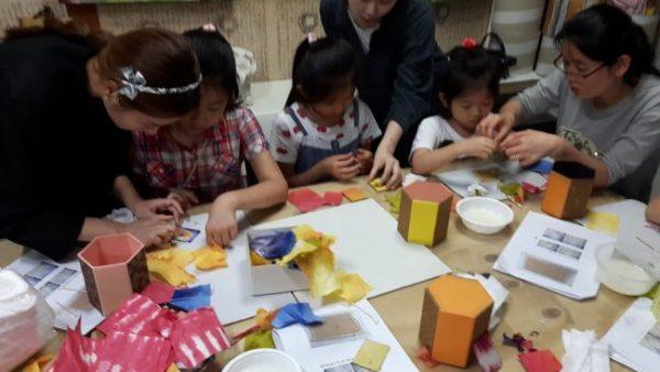 2016.06.18 [2016 꿈다락 토요문화학교] 미술관 속 감성여행, 한지로 만나는 전통공예 이야기 어린이프로그램