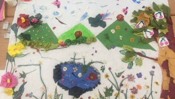 2016.07.09 [2016 꿈다락 토요문화학교] 미술관 속 감성여행, 한지로 만나는 전통공예 이야기 어린이프로그램