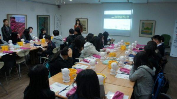 2015.11.13. 토이 창작교실, 11월 13일 신창중학교 1학년