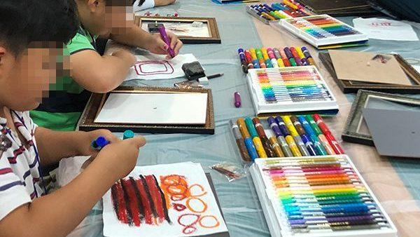 2019.08.16 [상설 체험 프로그램] 닥종이 액자시계, 염색 티셔츠 만들기