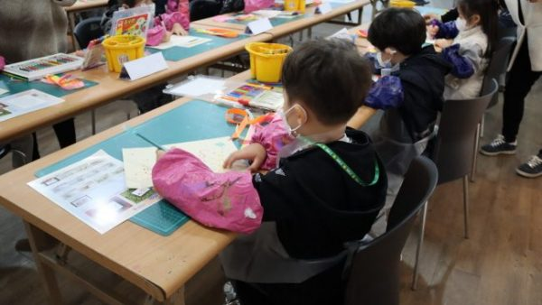 [상설체험] 2020.10.22 '리본자수 가을 풍경 그리기' 상원미술관 교육 프로그램
